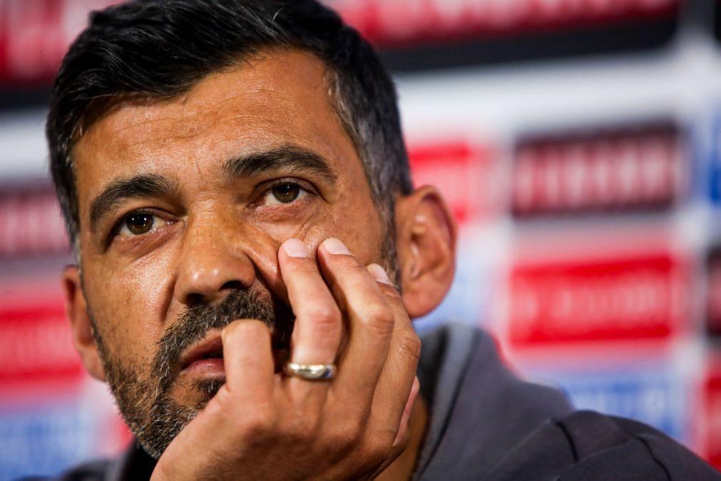 Sérgio Conceição diz que Sporting é o favorito à conquista do título nacional