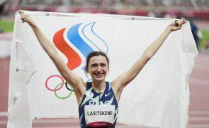 Tóquio2020: Russa Mariya Lasitskene continua a ser a melhor no salto em altura
