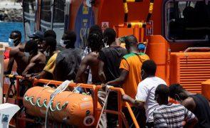 Marinha marroquina intercetou 180 migrantes de origem subsaariana