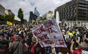 Covid-19: Protestos contra o certificado de saúde em várias cidades francesas pela quarta semana consecutiva