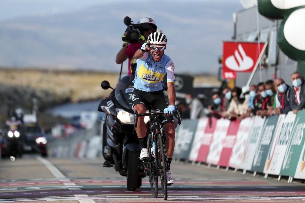 Alejandro Marque vence na Torre e assume liderança da Volta a Portugal