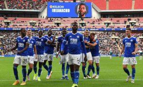 Leicester conquista Supertaça de Inglaterra ao vencer o Manchester City
