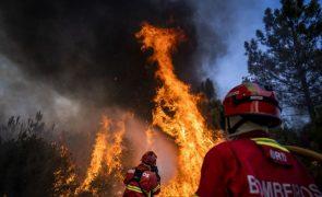 Incêndio em Mata de Rei, Santarém, dado como dominado às 19:43