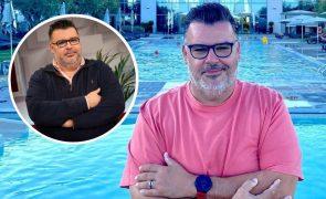 Nuno Azinheira perde 13 quilos e 23 cm de barriga em apenas seis meses