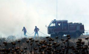 Oito concelhos de Faro e Santarém em risco máximo de incêndio - IPMA