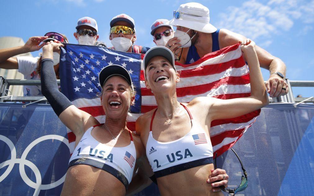 Tóquio2020: Estados Unidos passam China e rubricam 'tri' no medalheiro