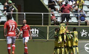 Tondela vence europeu Santa Clara na estreia na I Liga 2021/22