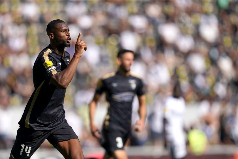 Golo de Beto permite triunfo do Portimonense em Guimarães