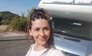Sara Barradas dormiu numa caravana durante uma semana