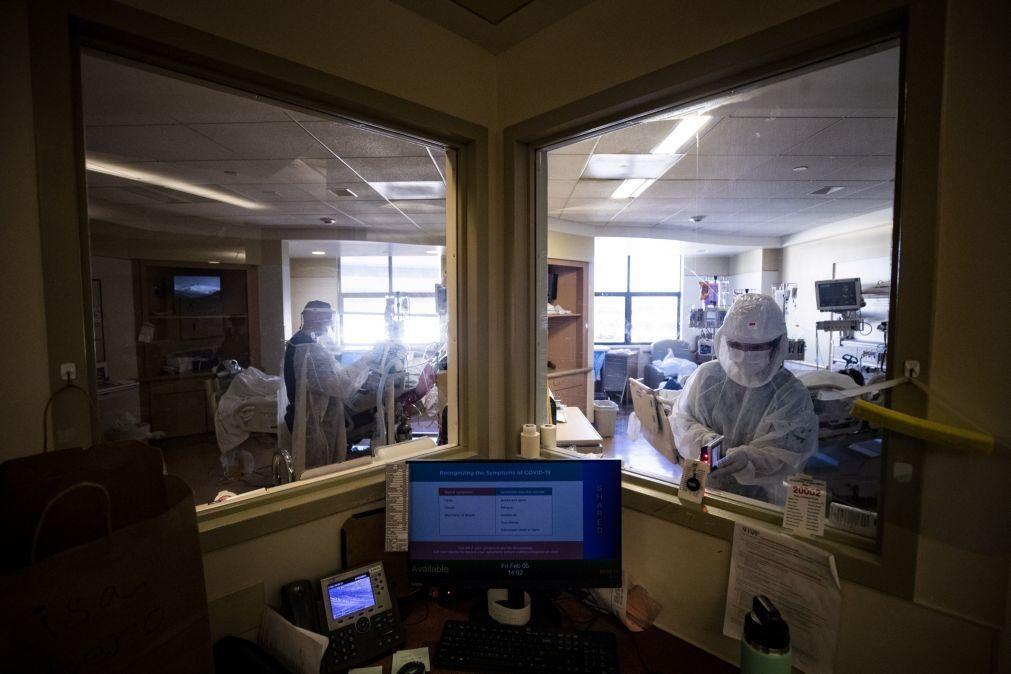 Covid-19: Estados Unidos com número recorde de crianças hospitalizadas