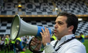 Presidente do Boavista lamenta fim do