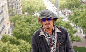 Johnny Depp recebe prémio de carreira do Festival de San Sebastián