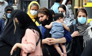 Covid-19: Irão com novo recorde diário ao registar mais de 40 mil novos casos