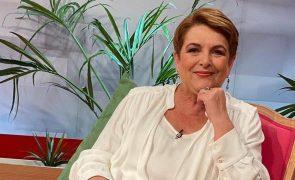 Luísa Castel-Branco assistida no hospital