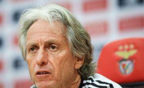 Jesus quer que Benfica passe e que Rui Vitória seja feliz em Moscovo