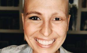 Joana Cruz de regresso a casa depois de operada ao cancro