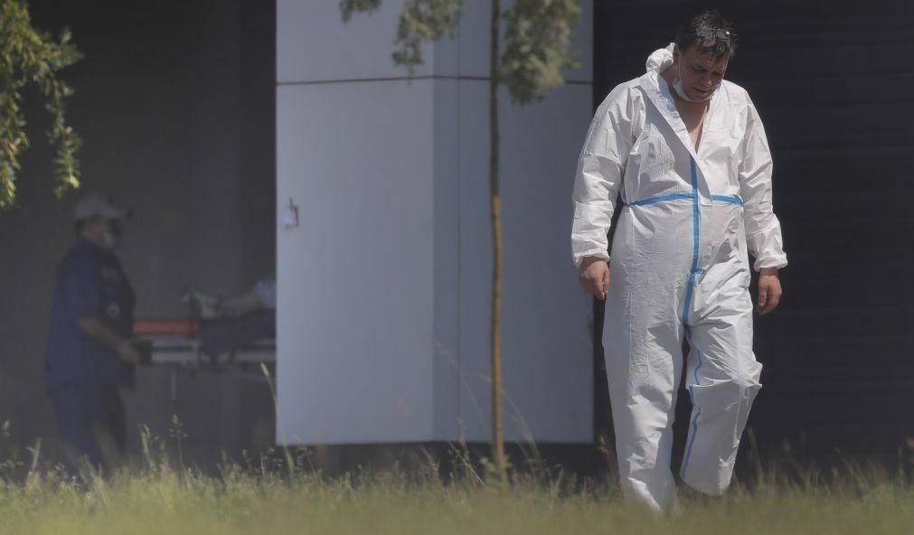 Rotura em tubagem de oxigénio provoca nove mortes em hospital russo
