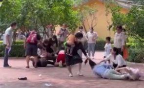 Discussão em Zoo acaba com humanos a imitarem animais [vídeo]