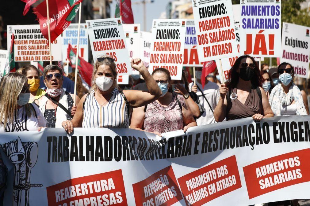 Trabalhadores da hotelaria pedem contratação coletiva e dizem que pandemia