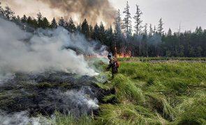 Putin exige ao Governo mais meios para combater incêndios na Sibéria