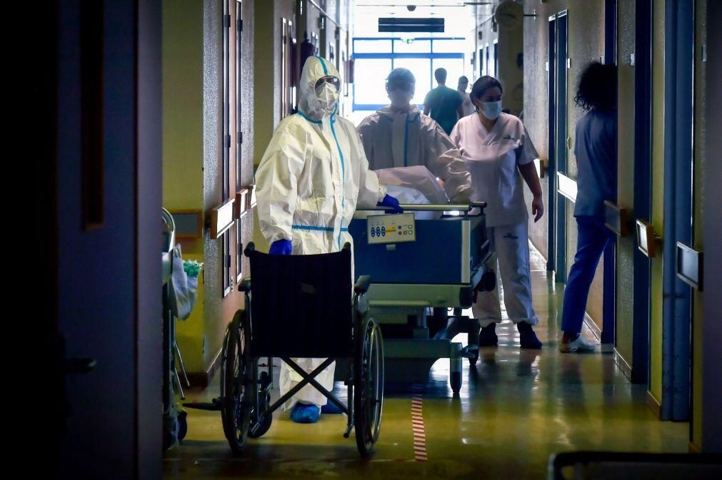 Covid-19: Portugal com 17 mortes, 2.232 novos casos e redução nos internamentos