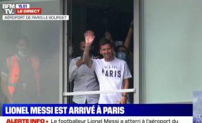 A chegada apoteótica de Messi a Paris [vídeo]