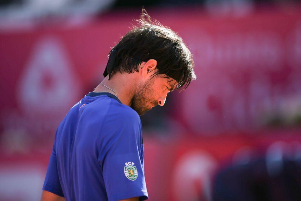 Gastão Elias eliminado na estreia no 'challenger' de San Marino
