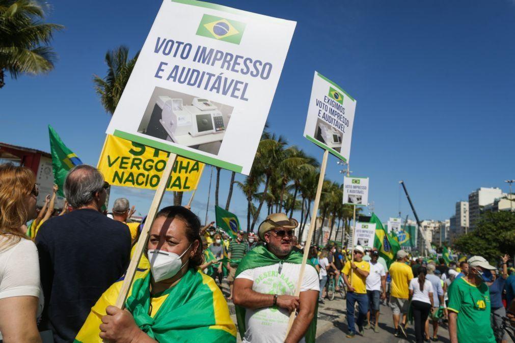 Câmara dos Deputados rejeita projeto para instituir voto impresso no Brasil