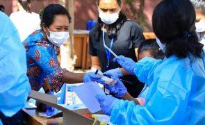 Covid-19: Timor-Leste registou mais 153 casos nas últimas 24 horas