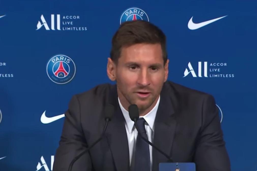 Lionel Messi apresentado oficialmente no PSG [em direto]