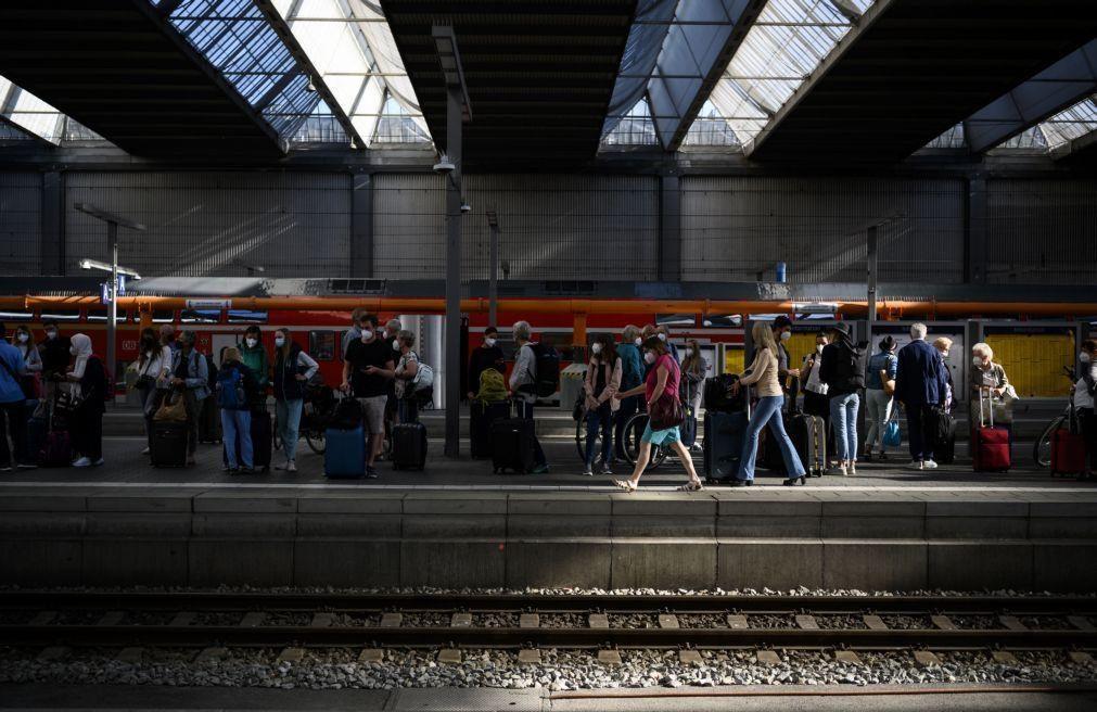 Greve de maquinistas paralisa tráfego ferroviário na Alemanha