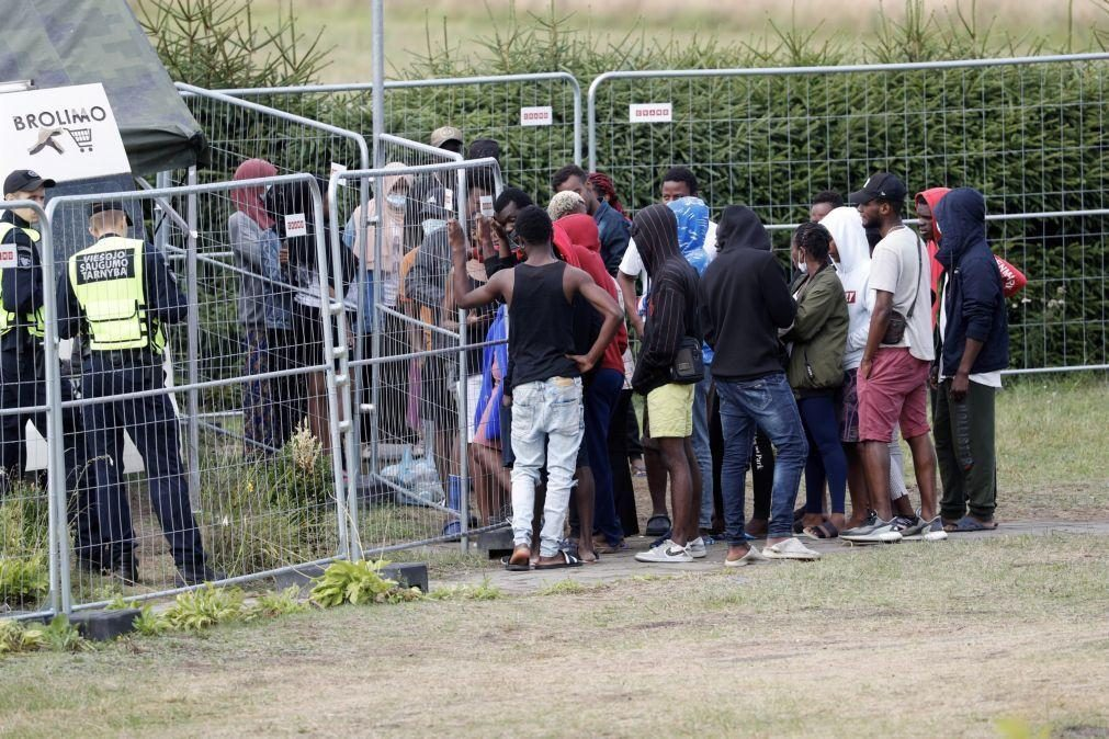 UE destina 36,7 ME à Lituânia para ajudar a melhorar receção de migrantes