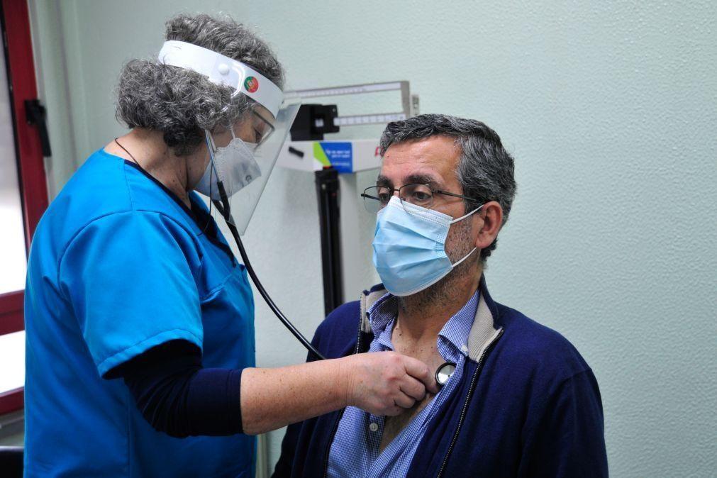 Covid-19: Consultas nos centros de saúde e hospitais aumentaram no primeiro semestre face a 2019