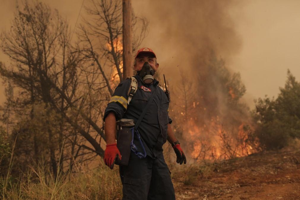 Incêndios na Grécia devastam cerca de 100 mil hectares em duas semanas