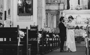 Tiago Castro revela imagens inéditas do casamento