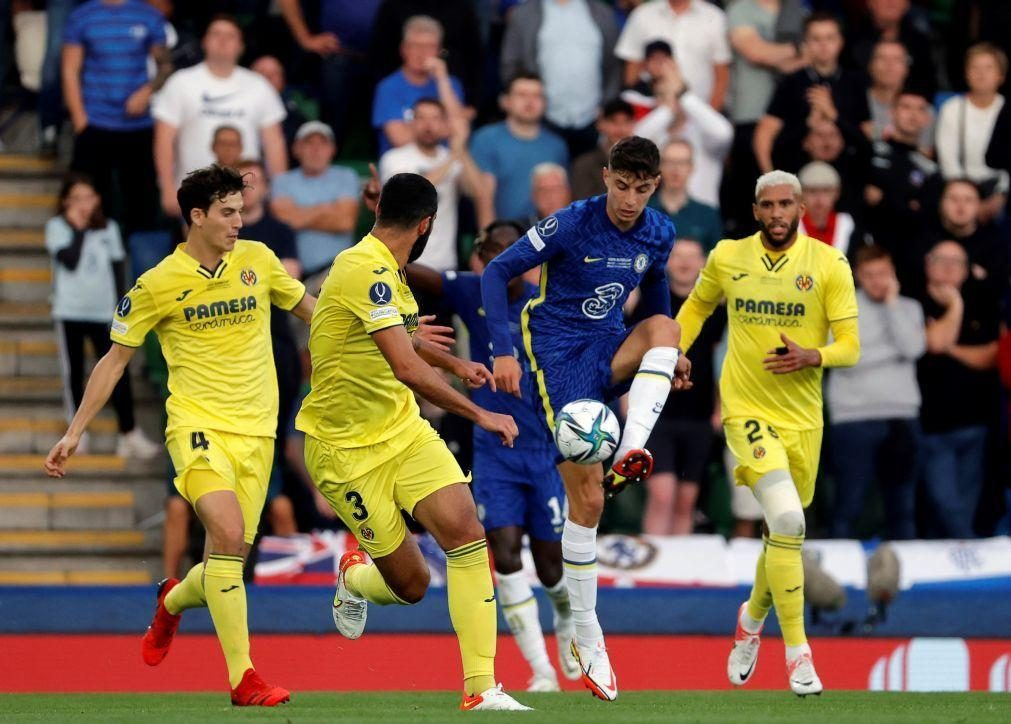 Chelsea bate Villarreal e vence Supertaça europeia pela segunda vez