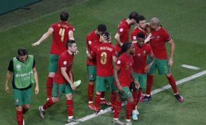 Portugal desce para o oitavo lugar no 'ranking' da FIFA
