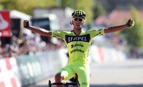 Volta: Rafael Reis vence pela terceira vez e recupera a camisola amarela