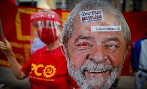 Covid-19: Lula da Silva diz que Brasil não merece ser governado por