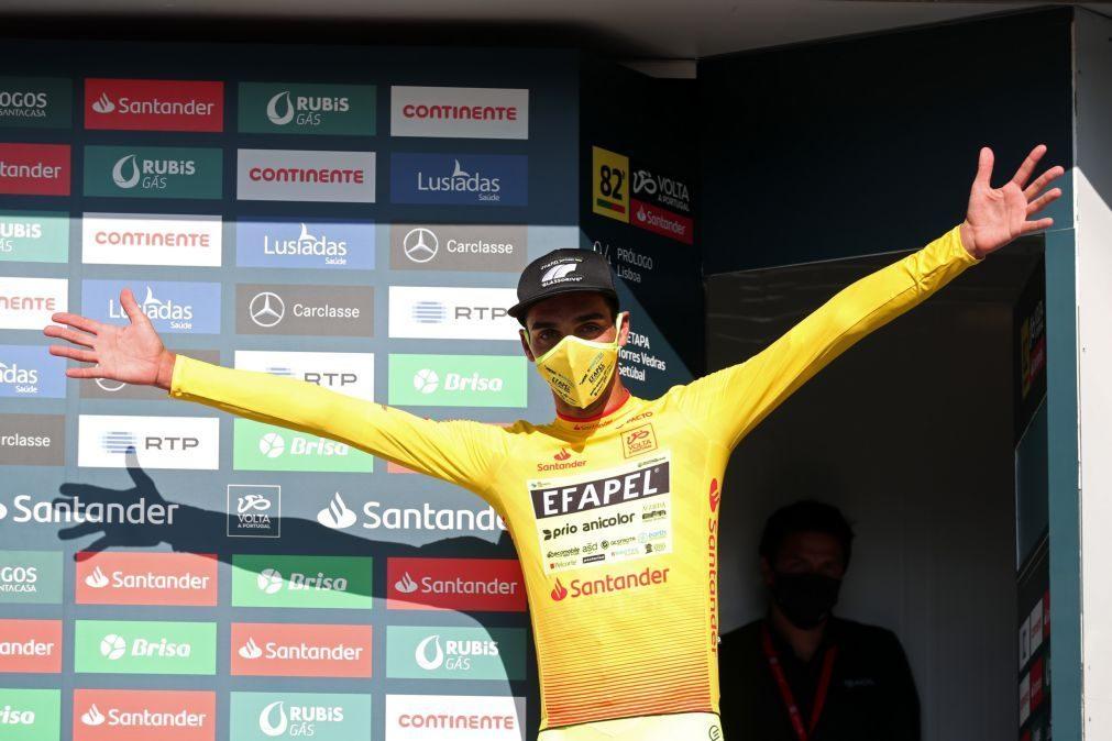 Volta: Rafael Reis sobe o Larouco de amarelo
