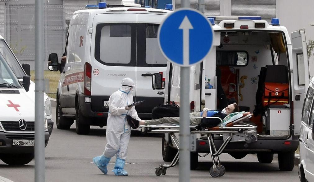 Covid-19: Rússia regista recorde de mortes diárias pelo segundo dia consecutivo