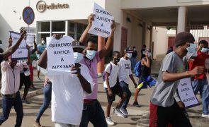 Venezuela: Manifestantes e forte aparato policial no julgamento da extradição de Saab na Praia