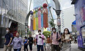 Covid-19: Japão ultrapassa pela primeira vez 20.000 casos num dia