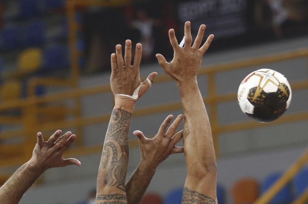 Seleção portuguesa de andebol sub-19 vence França por 29-26 no Europeu