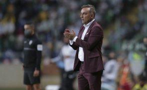 Carvalhal quer Braga