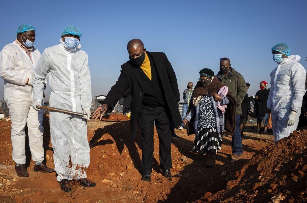 Covid-19: África regista mais 1.354 mortes e 40.143 infetados