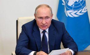 Rússia: Putin preocupado com catástrofes naturais de grandeza