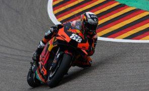 Miguel Oliveira arranca do nono lugar no GP da Áustria de MotoGP