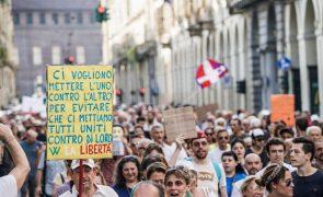 Covid-19: Itália regista 7.188 novos casos e 34 mortes nas últimas 24 horas
