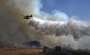 Incêndios: Mais de 130 bombeiros e oito meios aéreos combatem chamas em Nisa